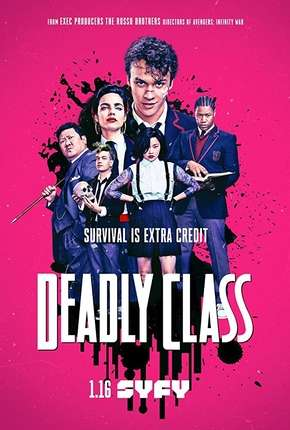 Deadly Class Séries Torrent Download completo