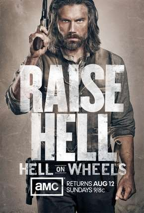 Hell On Wheels - 2ª Temporada Séries Torrent Download completo