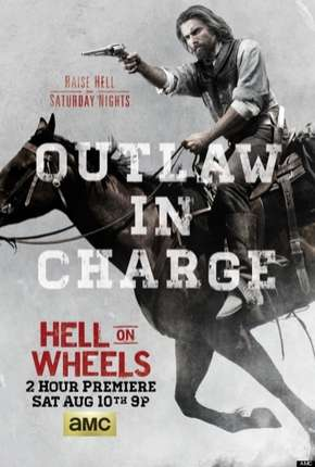 Hell on Wheels - 3ª Temporada Séries Torrent Download completo