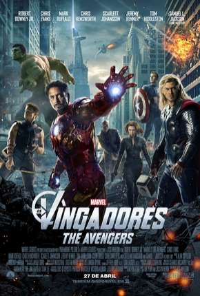 Os Vingadores - The Avengers BluRay Filmes Torrent Download completo
