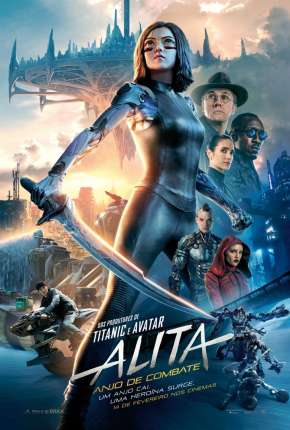 Alita - Anjo de Combate Filmes Torrent Download completo