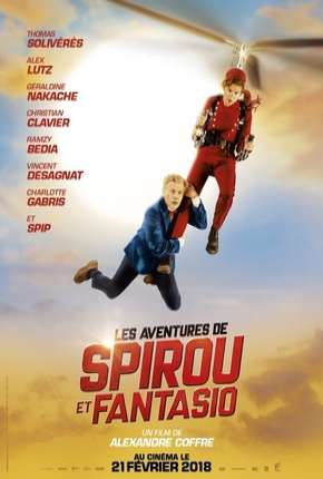 As Fantásticas Aventuras de Spirou e Fantásio Filmes Torrent Download completo