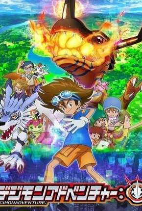 Digimon Adventure - 1ª Temporada - Legendado Desenhos Torrent Download completo