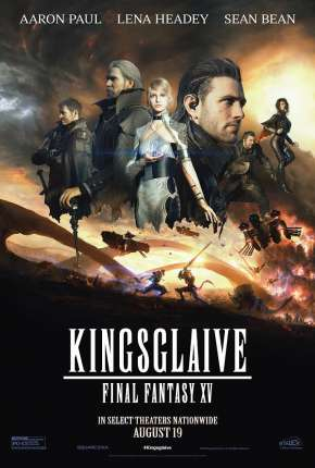 Kingsglaive - Final Fantasy XV Filmes Torrent Download completo