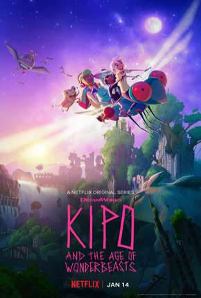 Kipo e os Animonstros - Completa Desenhos Torrent Download completo
