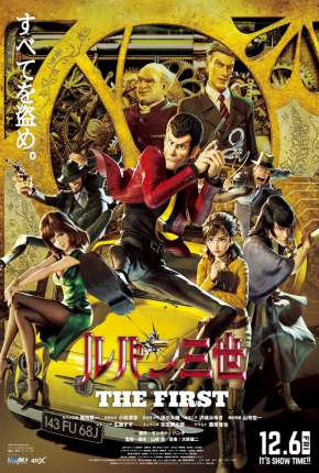 Lupin III - O Primeiro Filmes Torrent Download completo
