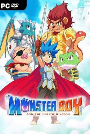 Monster Boy And The Cursed Kingdom Jogos Torrent Download completo
