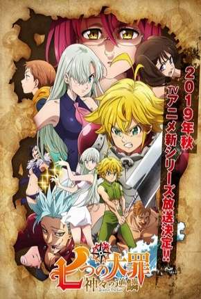 Nanatsu no Taizai - Kamigami no Gekirin - 3ª Temporada Legendada Desenhos Torrent Download completo