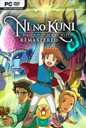 Ni No Kuni Wrath Of The White Witch - Remastered Jogos Torrent Download completo
