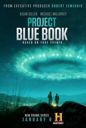 Projeto Livro Azul - Project Blue Book Séries Torrent Download completo