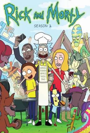 Rick and Morty - 2ª Temporada Completa Desenhos Torrent Download completo