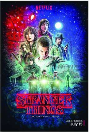 Stranger Things - 1ª Temporada HD Séries Torrent Download completo