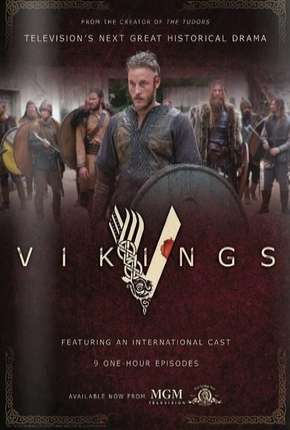 Vikings - 1ª Temporada Versão Estendida Séries Torrent Download completo