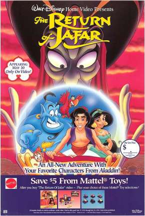 Aladdin - O Retorno de Jafar Filmes Torrent Download completo
