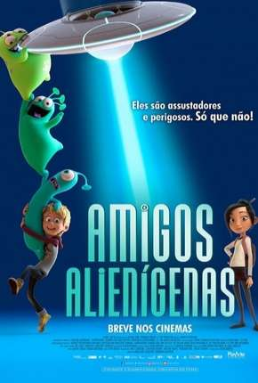 Amigos Alienígenas - Luis e the Aliens Filmes Torrent Download completo