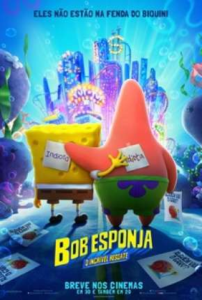 Bob Esponja - O Incrível Resgate Filmes Torrent Download completo