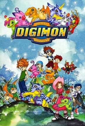 Digimon 1ª até 5ª Temporada Desenhos Torrent Download completo