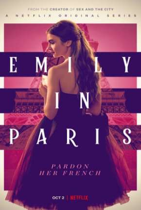 Emily em Paris - 1ª Temporada Completa Séries Torrent Download completo