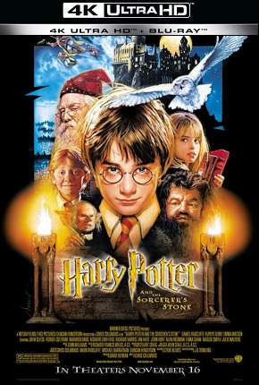 Harry Potter e a Pedra Filosofal - Versão do Cinema 4K BluRay Filmes Torrent Download completo