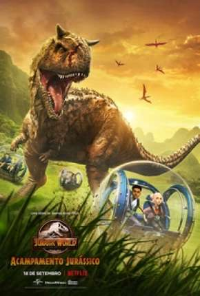 Jurassic World - Acampamento Jurássico Desenhos Torrent Download completo