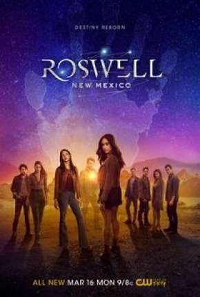 Roswell, New Mexico - 2ª Temporada Séries Torrent Download completo