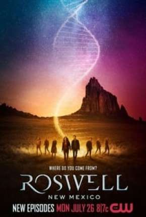 Roswell, New Mexico - 3ª Temporada Séries Torrent Download completo
