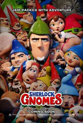 Sherlock Gnomes e o Mistério do Jardim Filmes Torrent Download completo