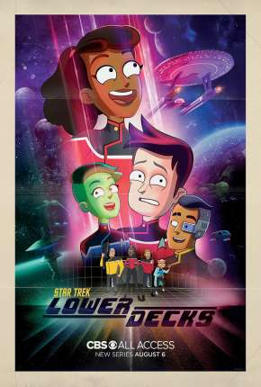 Star Trek - Lower Decks - 1ª Temporada - Legendado Desenhos Torrent Download completo