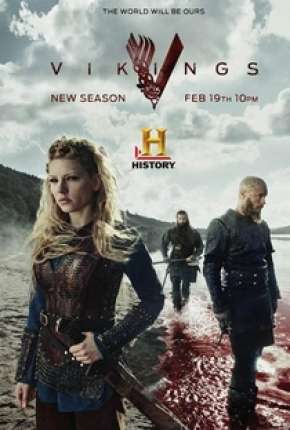 Vikings - 3ª Temporada - Versão Estendida Completa Séries Torrent Download completo